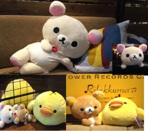リラックマカフェ渋谷店店内