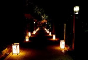 江の島灯篭2015画像