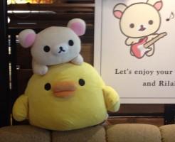 リラックマカフェ2015タワレコ渋谷店
