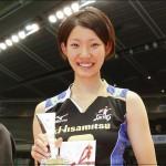 女子バレー石井優希のカップが可愛い!太ももや私服のGIF画像も