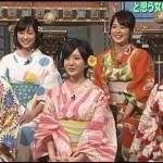 踊るさんま御殿で高田夏帆の浴衣姿が可愛い。デビューの話しや画像