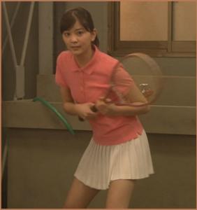石橋杏奈-テニス画像