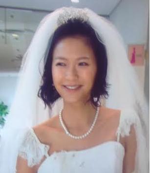 榮倉奈々着用ウエディングドレス