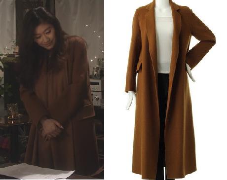 オトナ女子-篠原涼子-9話茶色のコート画像