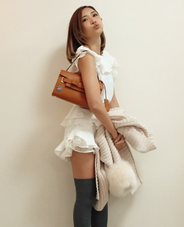 紗江子,5時から9時までファッション