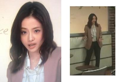 石原さとみ-ファッション月9ドラマ2話