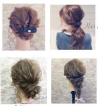 簡単でセンスのいいヘアアレンジ方法-画像