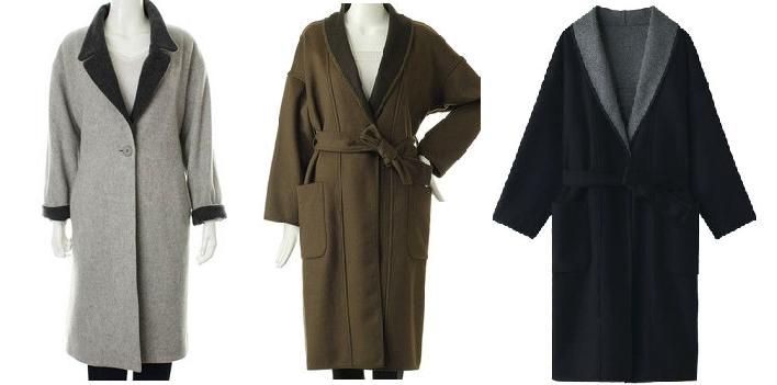 篠原涼子さん7話着用衣装に似たコート画像