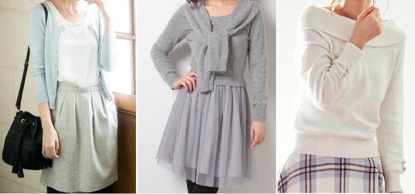 女子アナファッション-レッセパッセ-通販服画像