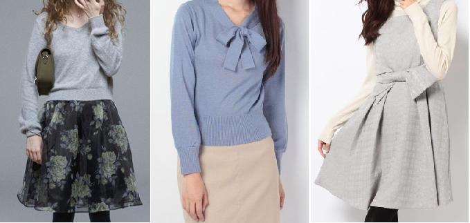 女子アナファッションブランド,レストローズ,通販服画像
