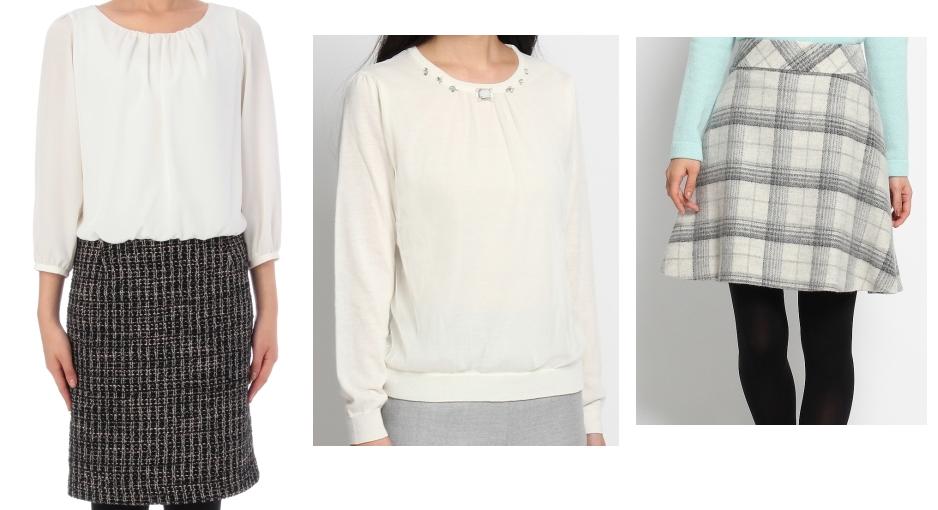 女子アナファッション-untitle-通販服画像