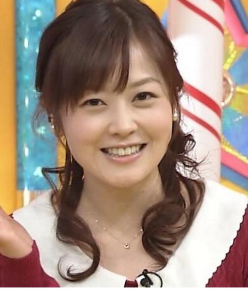 水卜麻美アナ-髪型-ハーフアップウェーブ-画像