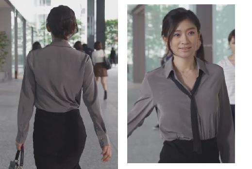 オトナ女子-篠原涼子-タイトスカートコーデ画像
