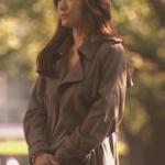 篠原涼子がオトナ女子で着ているロングトレンチコート・ストールのブランド