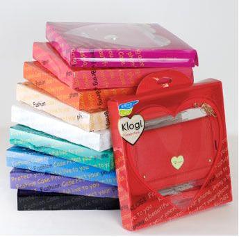 ハートモチーフiPhoneケース-プレゼントパッケージ画像