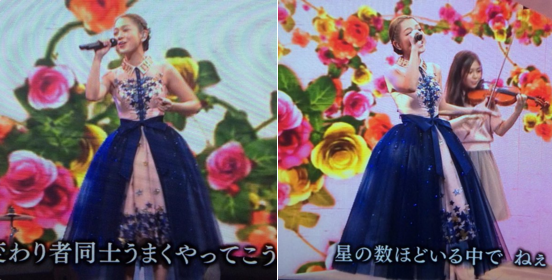 西野カナ-2014年紅白-衣装