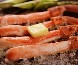 ホームパーティーにもオススメの蟹バター焼き-画像