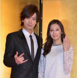 北川景子さんの結婚会見のときの髪型