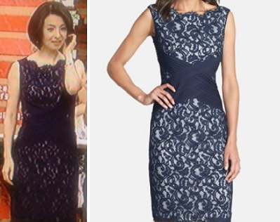 檀れい着用TADASHI SHOJIのドレス-画像
