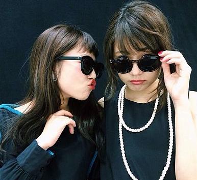 ドラマ「いつかこの恋」-高畑充希と有村架純のツーショット黒系-画像