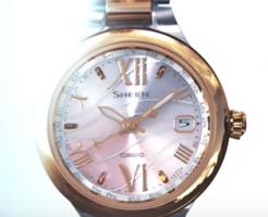 上野樹里着用腕時計CASIO-sheen-画像