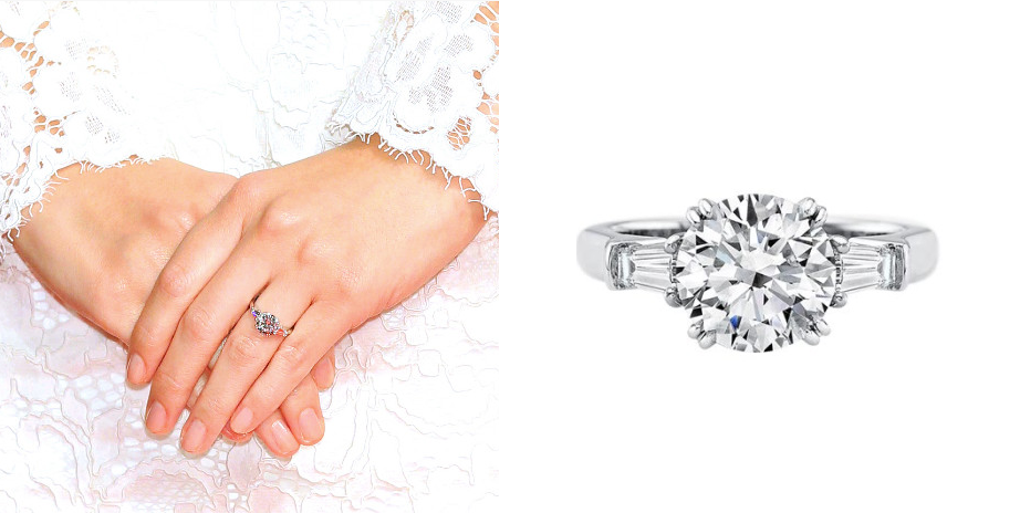 北川景子-ハリーウィンストンの婚約指輪-画像