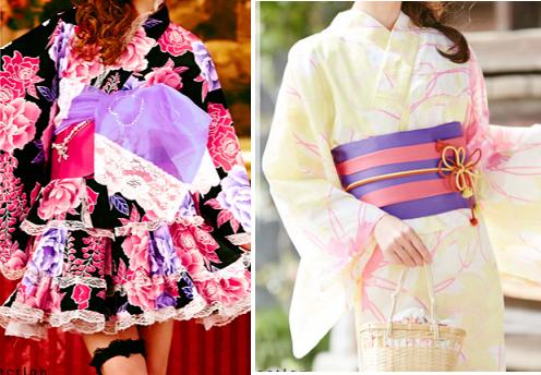 通販ショップ「夢展望」の浴衣ドレス-画像