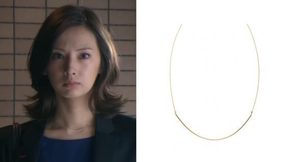 北川景子ドラマ着用ネックレスー画像
