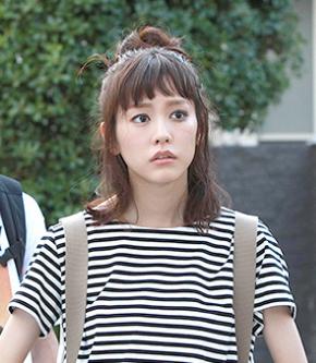 桐谷美鈴ードラマ着用ボーダーTシャツーワンピー画像