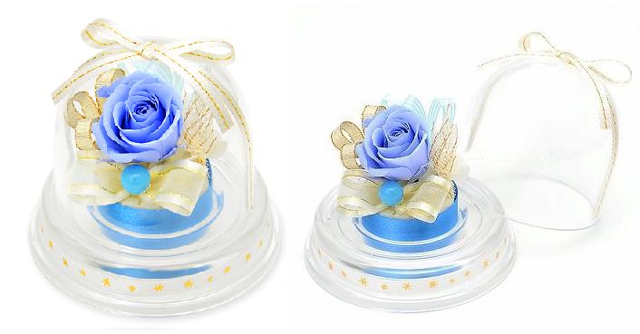 プレゼント用ミニドーム-12月誕生石ターコイズー画像