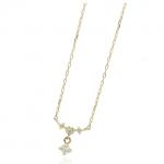 4月の誕生石ダイヤモンドの女性に人気のネックレス(1万円~3万円台)
