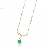 5月の誕生石エメラルドの女性に人気のネックレス(1万円~3万円台)