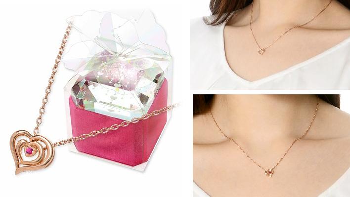 7月誕生石ルビーの人気ブランドのネックレス-画像