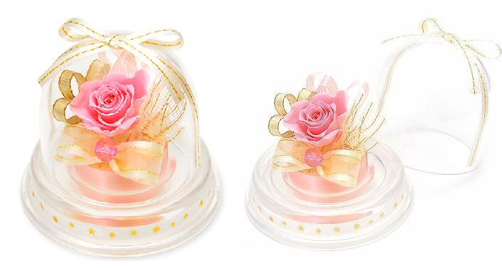 プレゼント用ミニドーム-10月誕生石トルマリン-画像