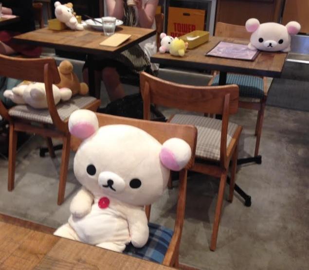 リラックマカフェ表参道-店内の様子-画像