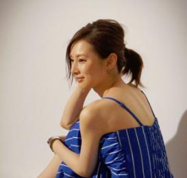北川景子のアップヘア-画像