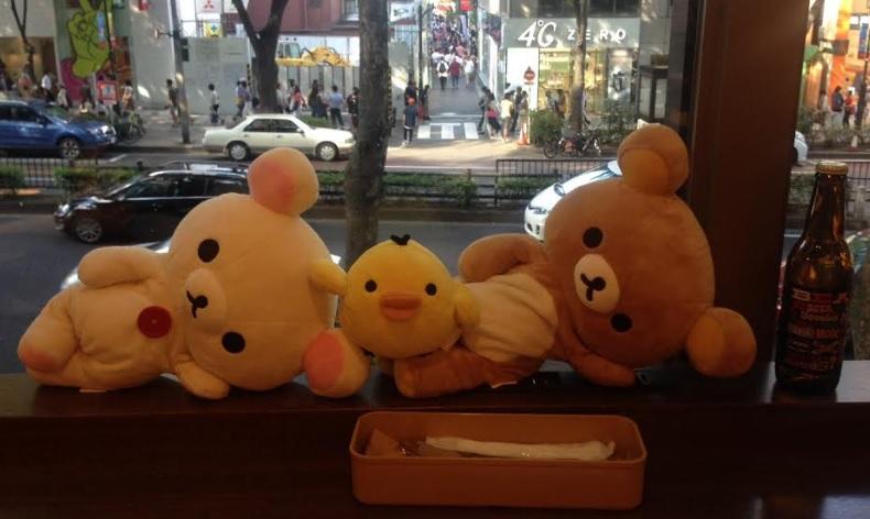 リラックマカフェ表参道-黄色いトリ-画像