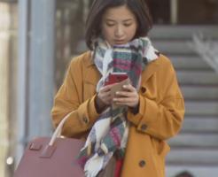 吉高由里子着用マフラーとコート-東京タラレバ娘-画像
