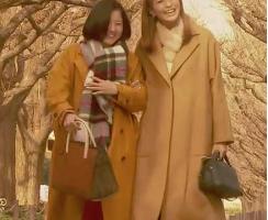 榮倉奈々-タラレバ-コートとマフラー-画像