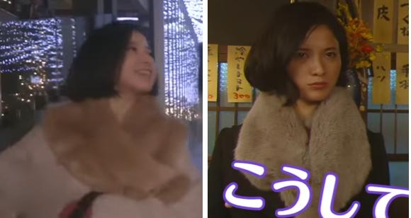 東京タラレバ娘-吉高由里子着用ファーマフラー-画像