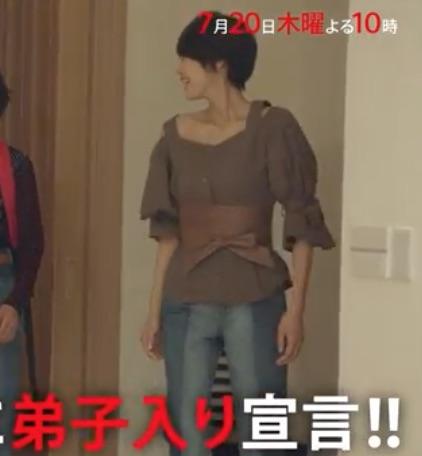 セシルのもくろみ 吉瀬美智子 衣装